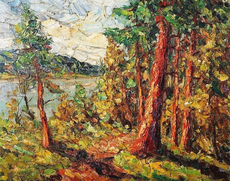 Finn Andersen (Danish, 1909-1987), Path around the