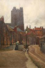 JOHN DODDY WALKER (1863-1925), MILLGATE, RICHMOND, NORTH YORKSHIRE, signed