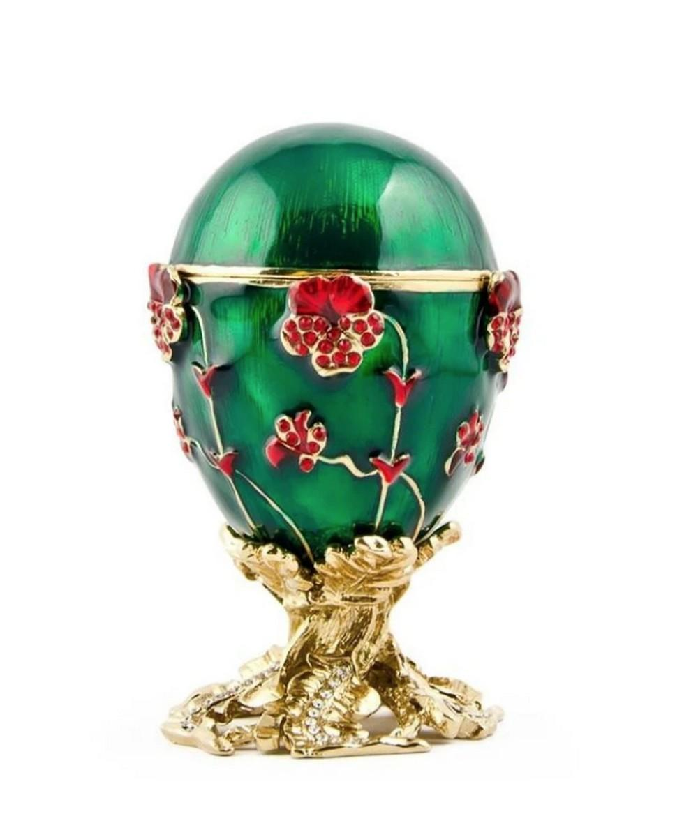 1899 Royal Pansy Russian Inspired Egg