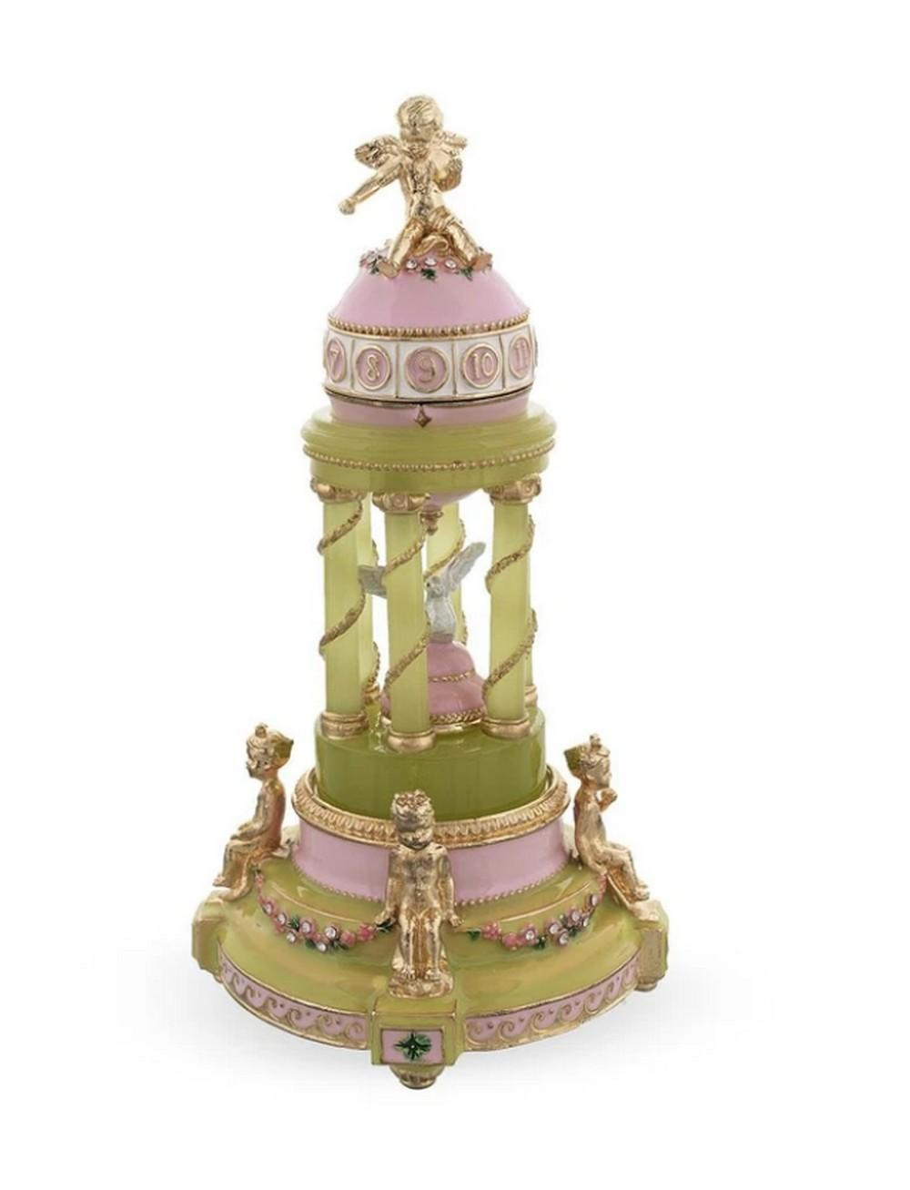 1910 Royal Russian Inspired Egg - The Colonnade Musical