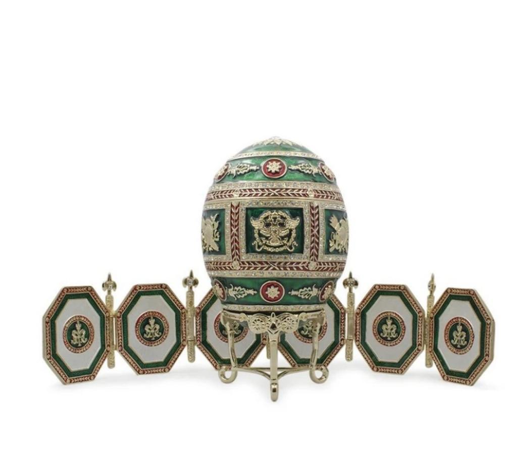 1912 Royal Russian Napoleonic Inspired Egg