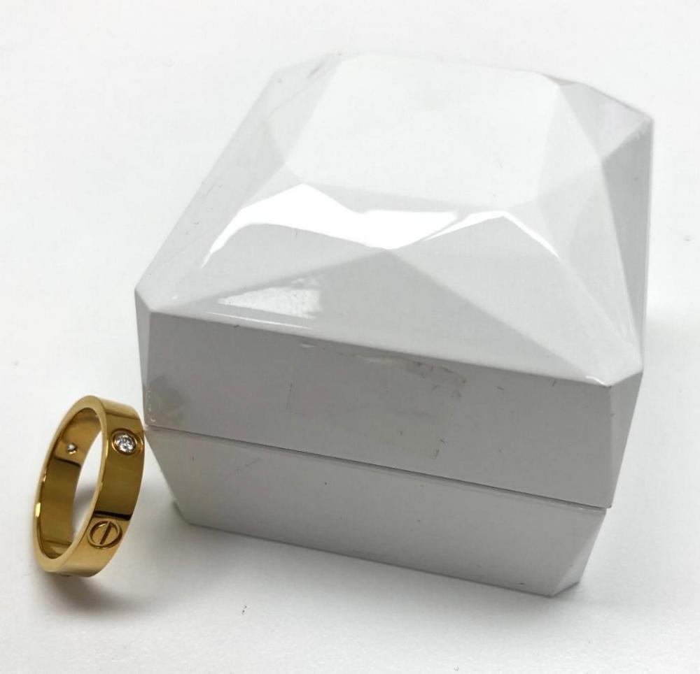 Ladies Silver Gold Banded Mounted Rhinestone Wedding