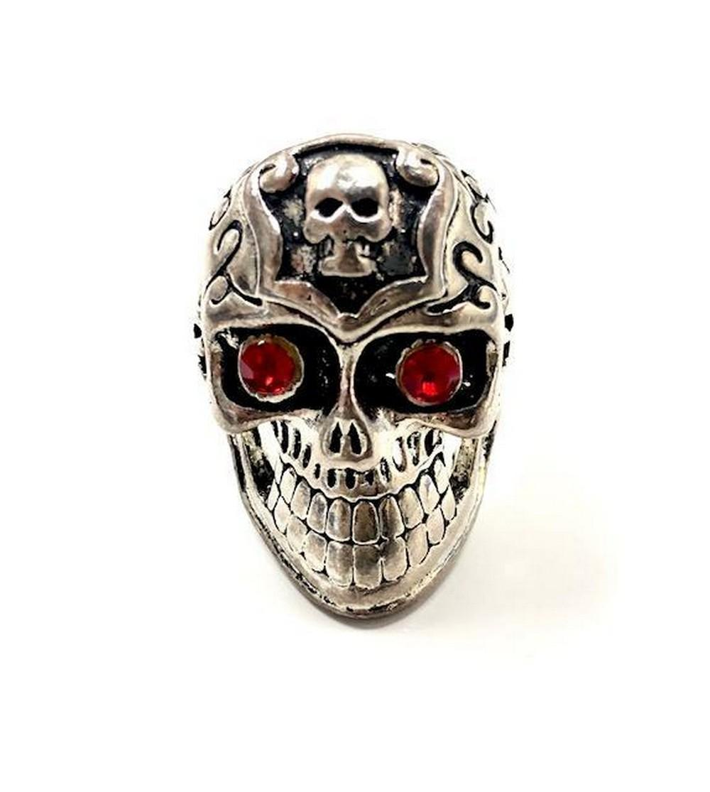 Size 11 Mens Gothic Skull Ring