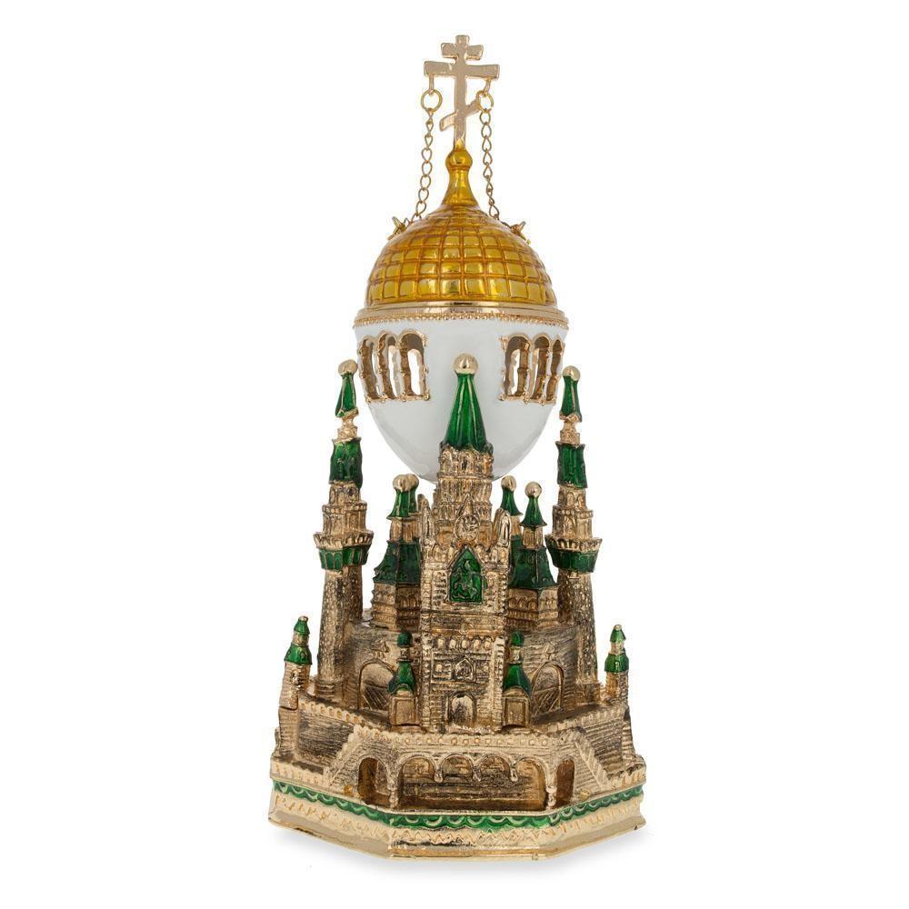 1906 Moscow Kremlin Royal Russian Inspired Egg