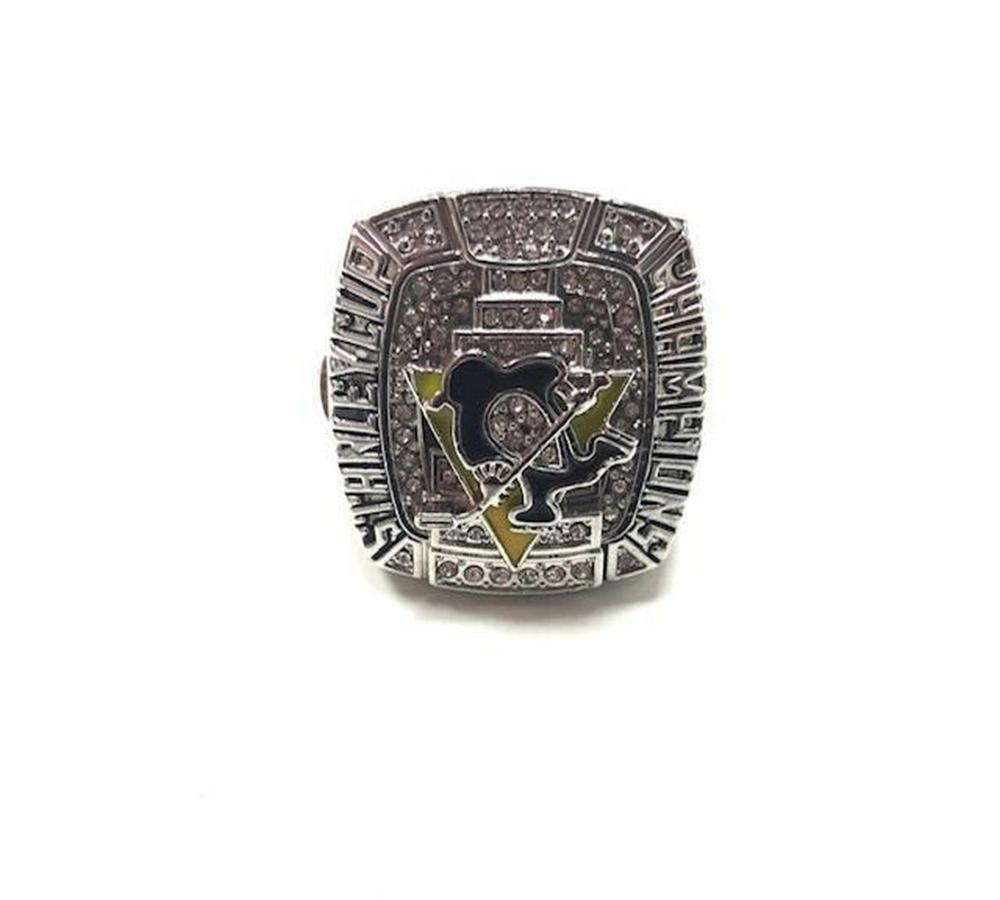 2009 Pittsburgh Penguins Stanley Cup Championship Inspired Ring