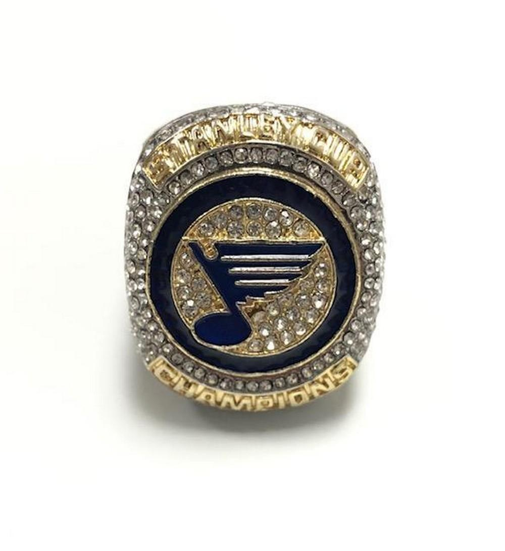 2019 St. Louis Blues NHL Stanley Cup Ring - Reilly