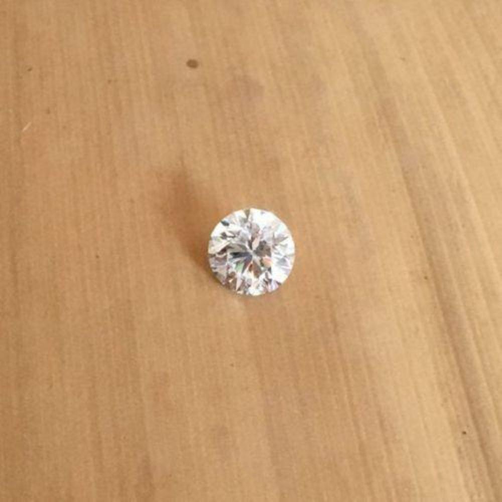 Lot 506: Natural Loose Brilliant Cut Diamond-1.8mm - I1 Clarity - J Color