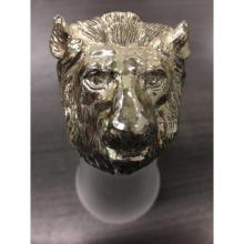 Lot 524: Rare Large Bear Head Shot Glass