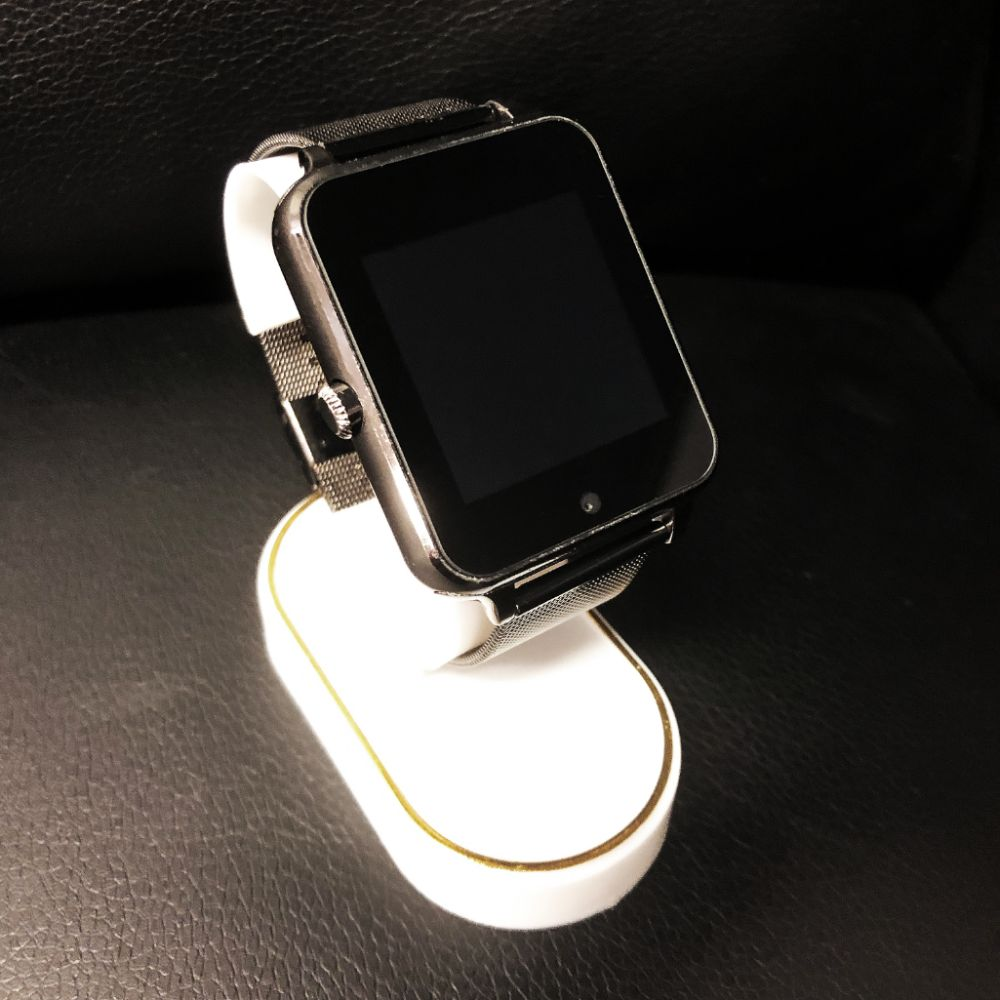New In Box Black AI Smart Watch Device With Charger
