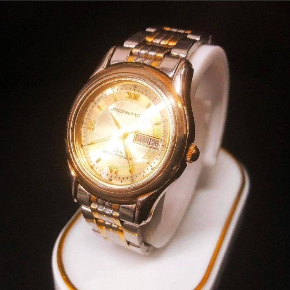 Jones New York 18K Gold Plated Wrist Watch