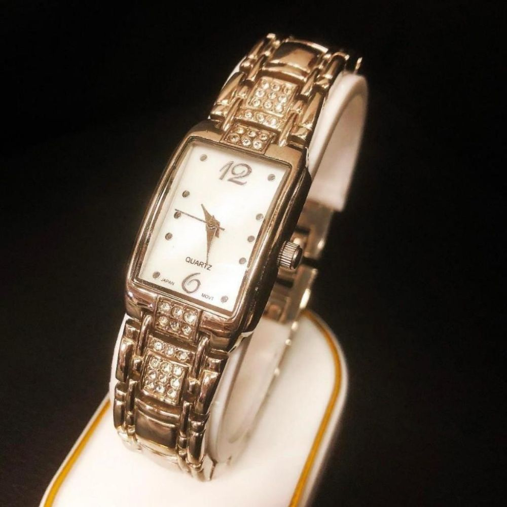 Ladies BWC Silver tone Wrist Watch