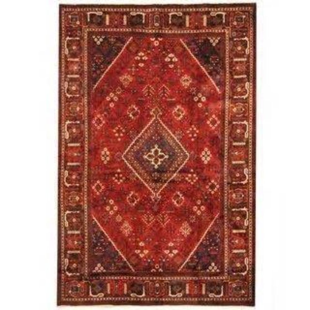 9'x12' Very Fine Joshegan Persian Rug, Mid 20th Century