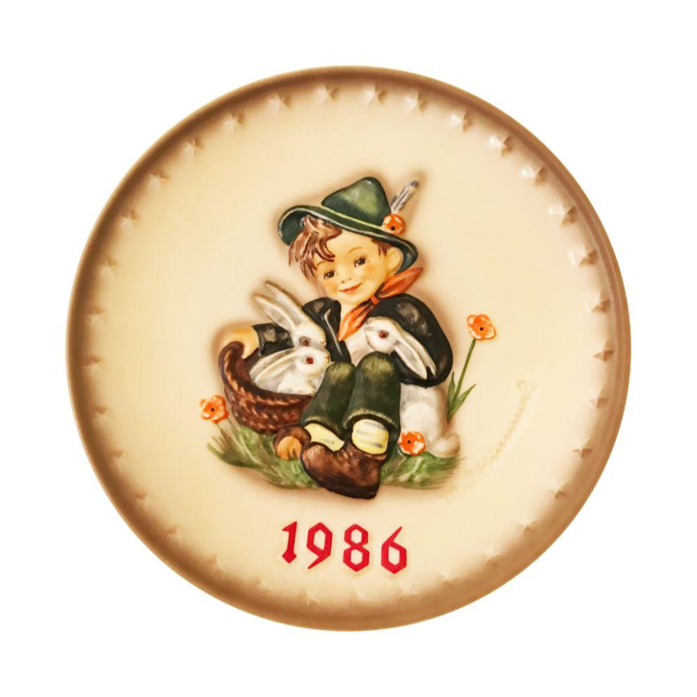 1986 Hummel Plate