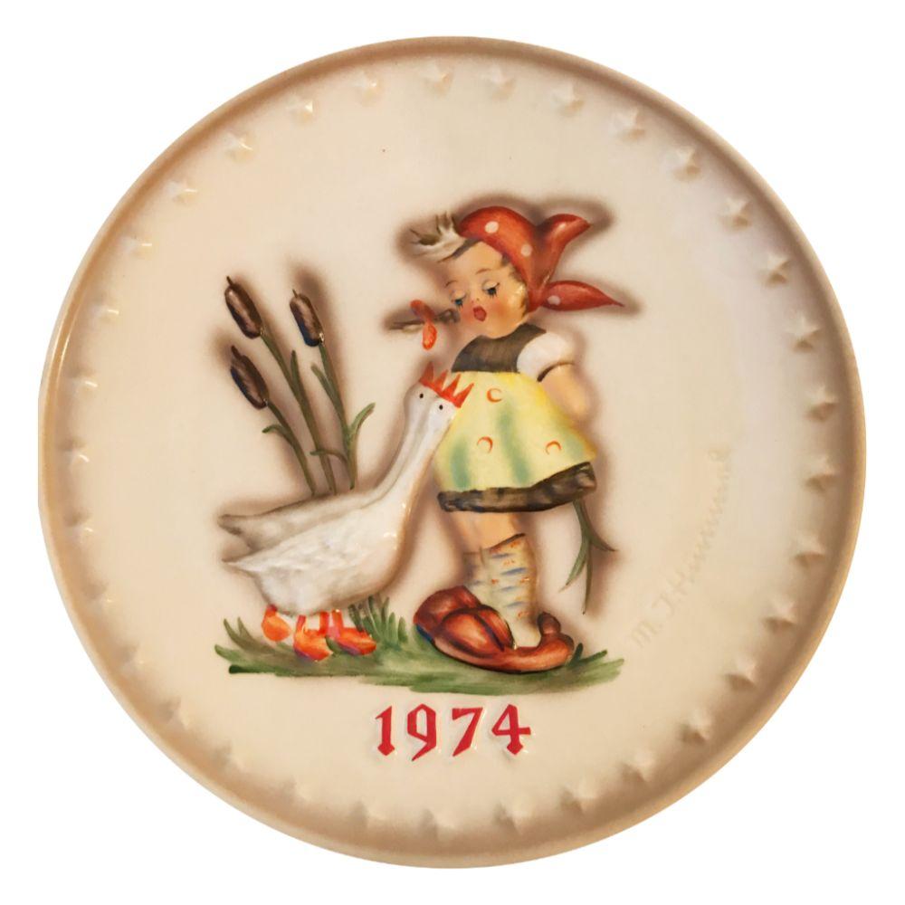 1974 Hummel Plate