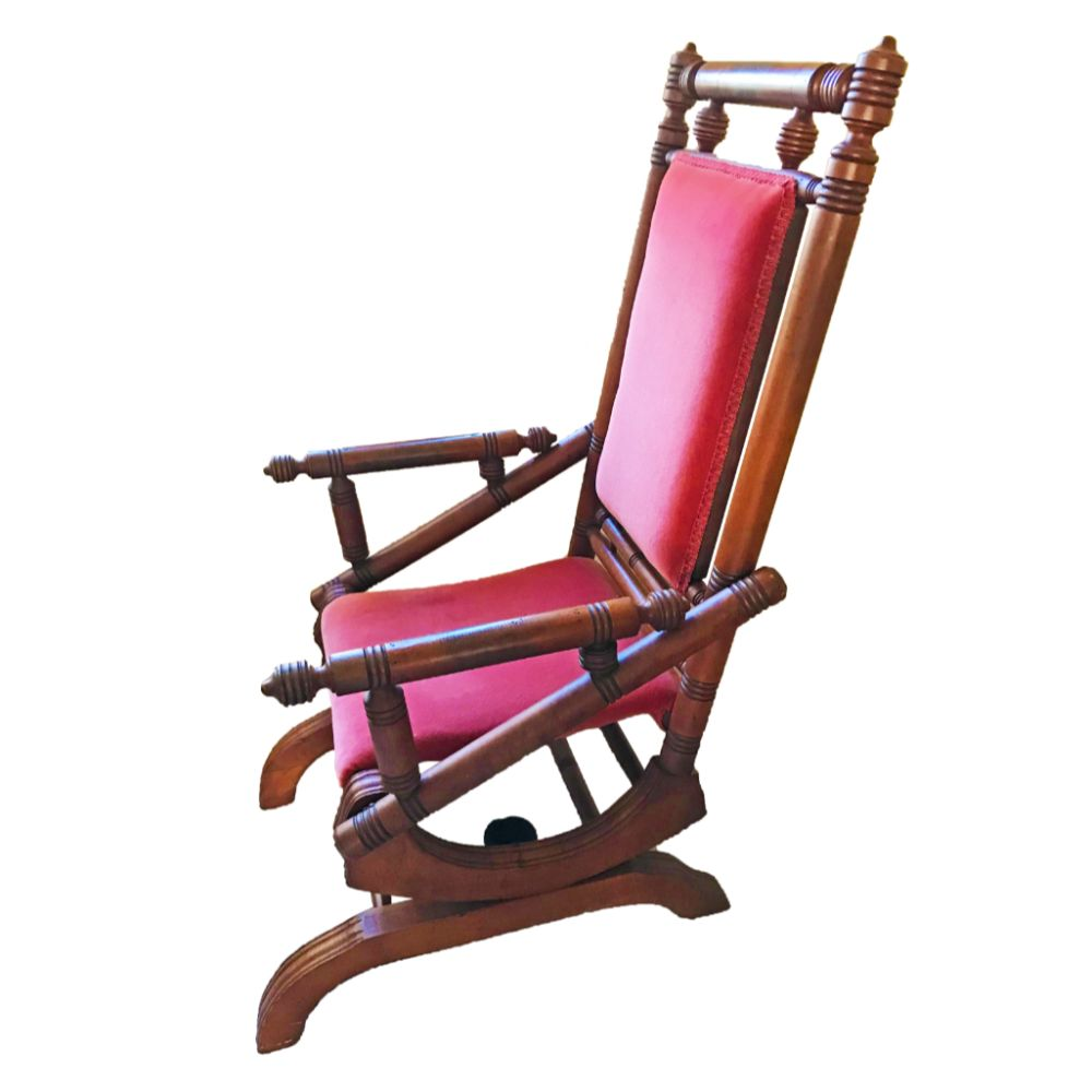 Antique Gentleman's Platform Rocker