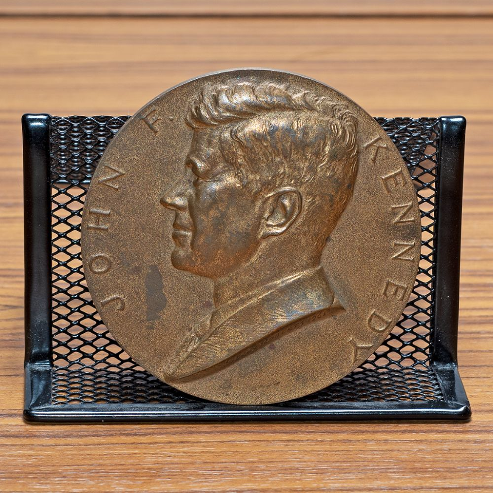 Commemorative John F. Kennedy January 20, 1961 Inaugural Copper Coin