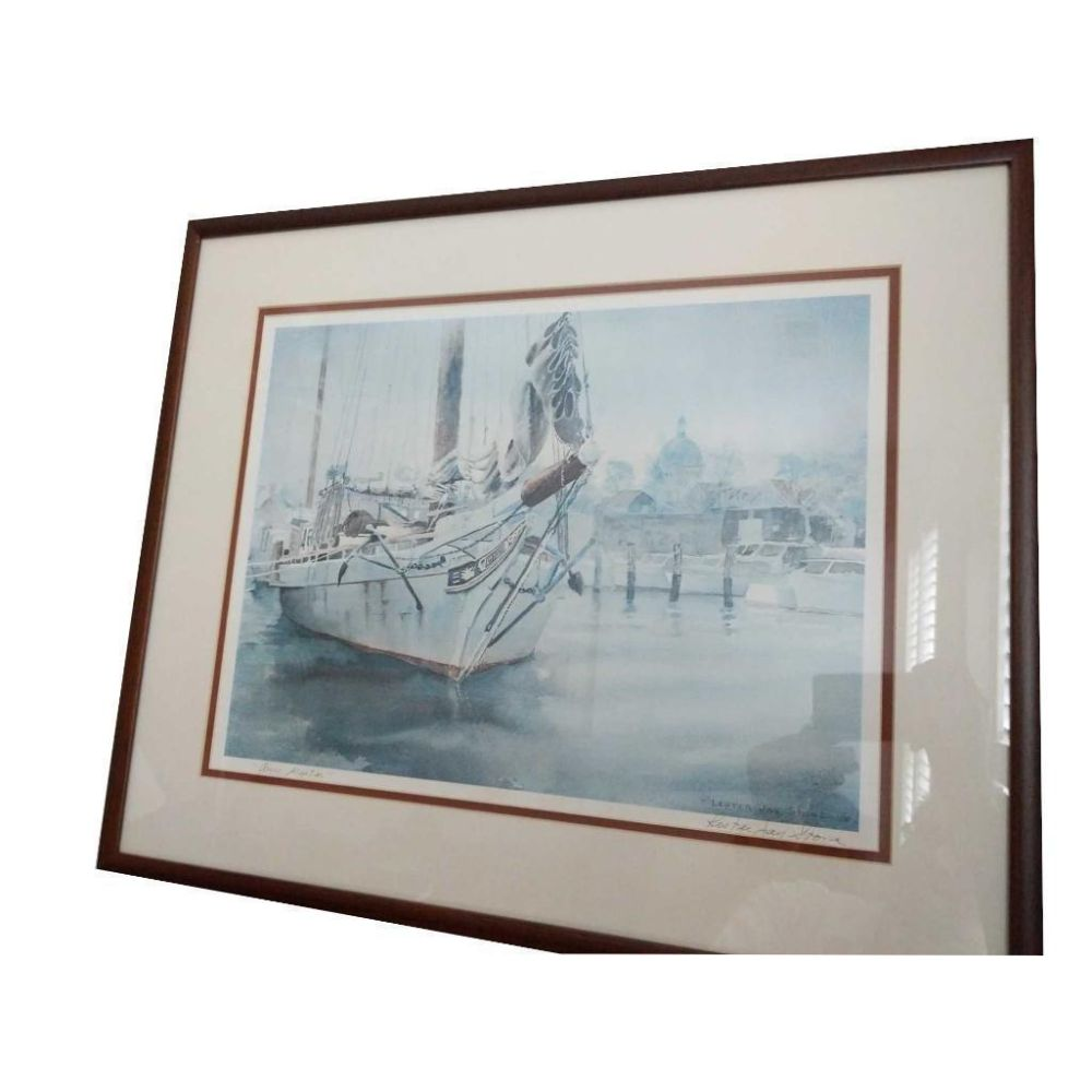 Robert Wood Signed Print
