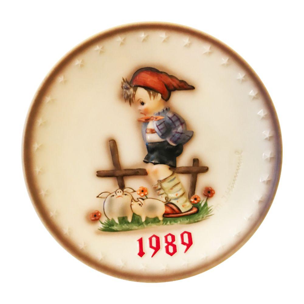 1989 Hummel Plate
