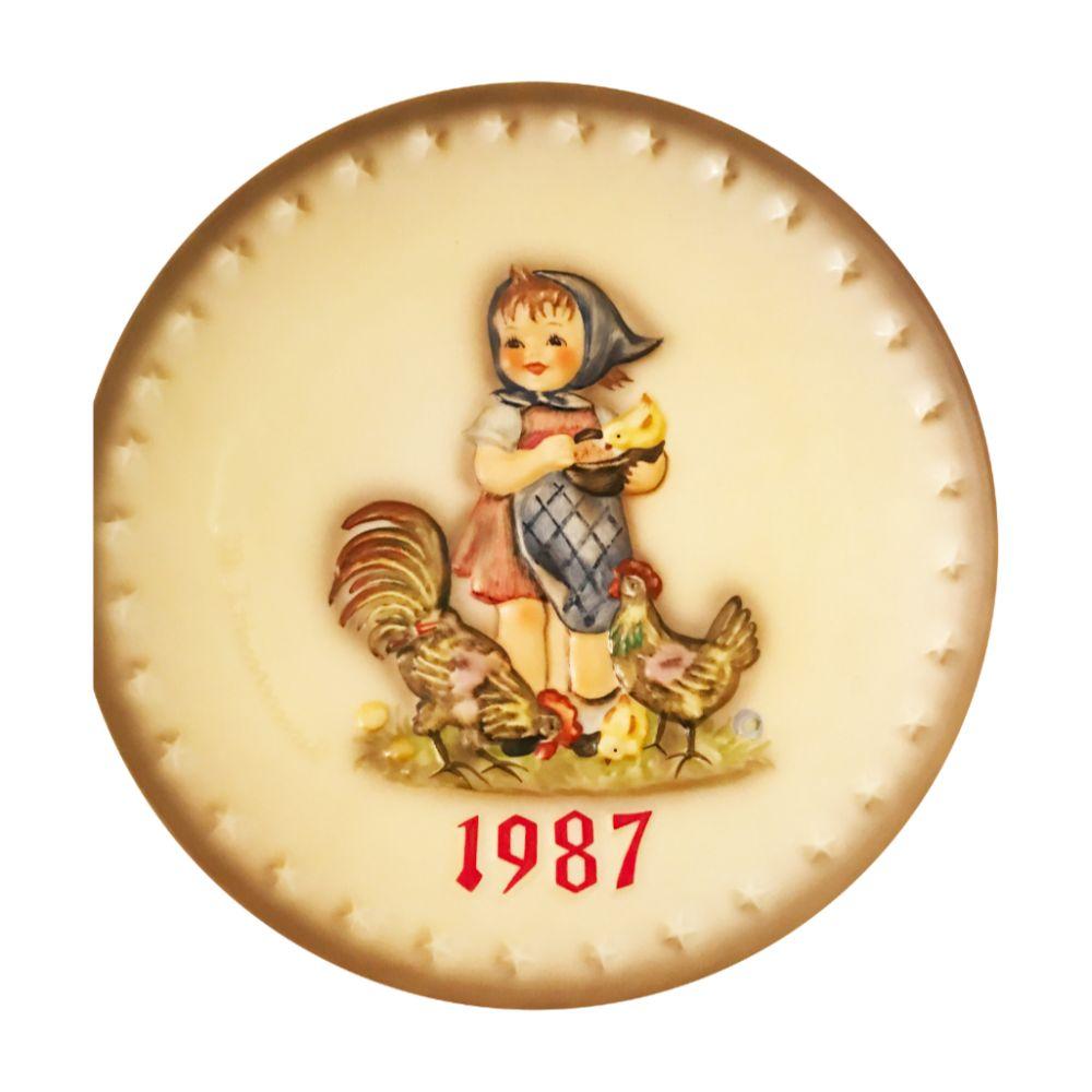 1987 Hummel Plate