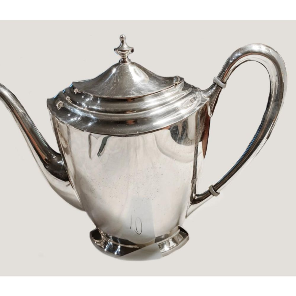Antique Silver Plated Sheffield Fairpoint Tea Pot