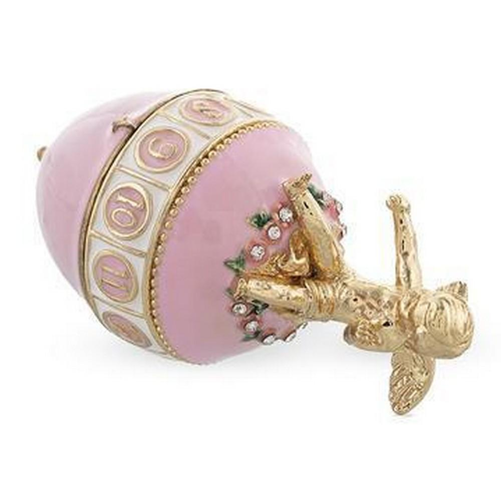 1910 THE COLONNADE MUSICAL INSPIRED ROYAL RUSSIAN EGG