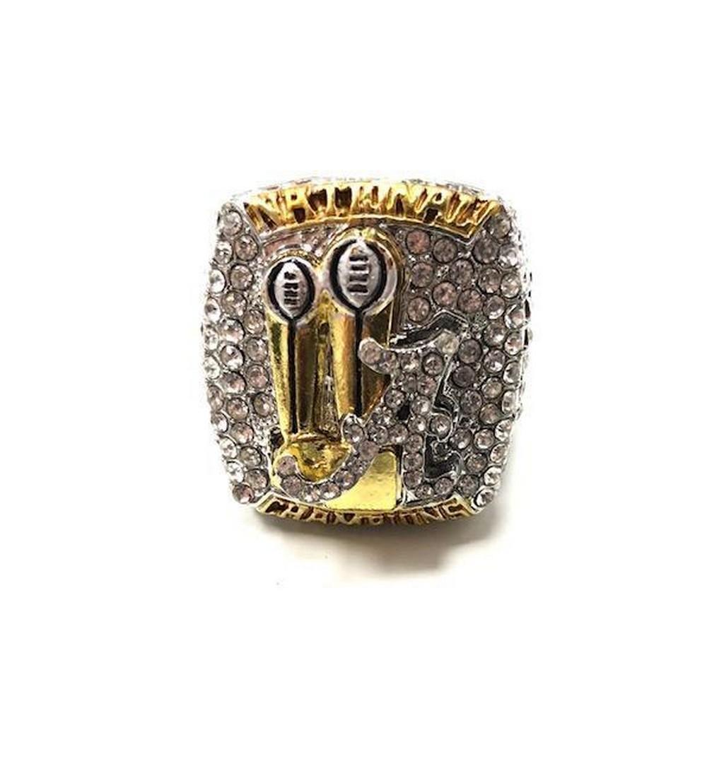 2017 Alabama Crimson Tide NCAA Football National Championship Ring - Nick Saban