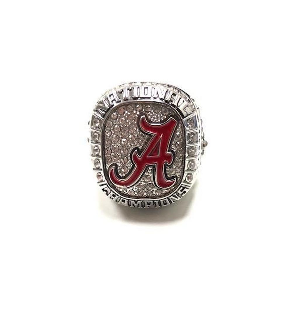 2015 Alabama Crimson Tide NCAA Football National Championship Inspired Ring