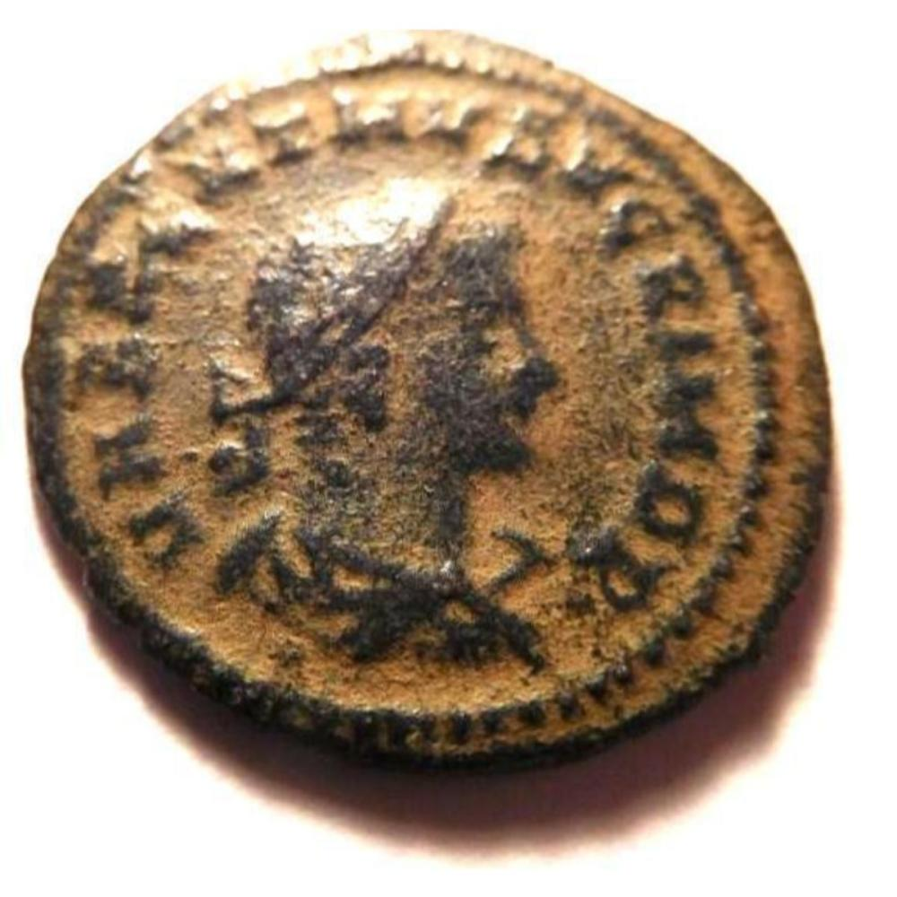 Two Headed Coin: Aurelian and Vabalathus