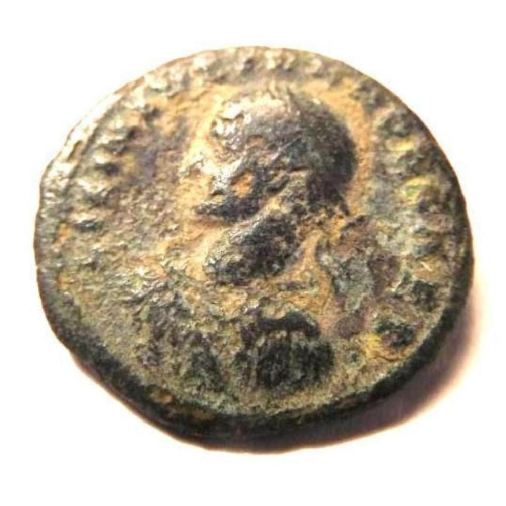 Bronze Coin of Licinius II (317-324 A.D.) - Scarce