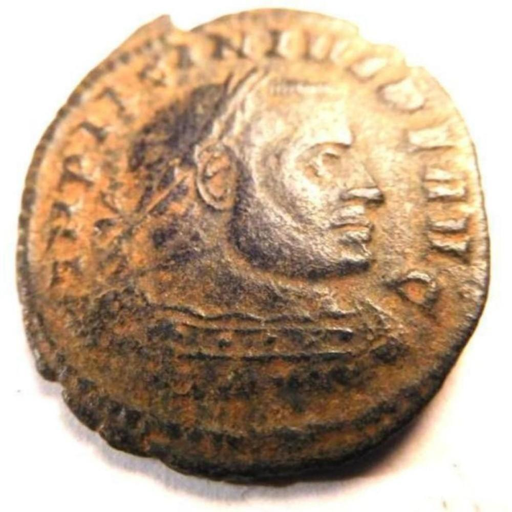 Ancient Bronze Coin Licinius I