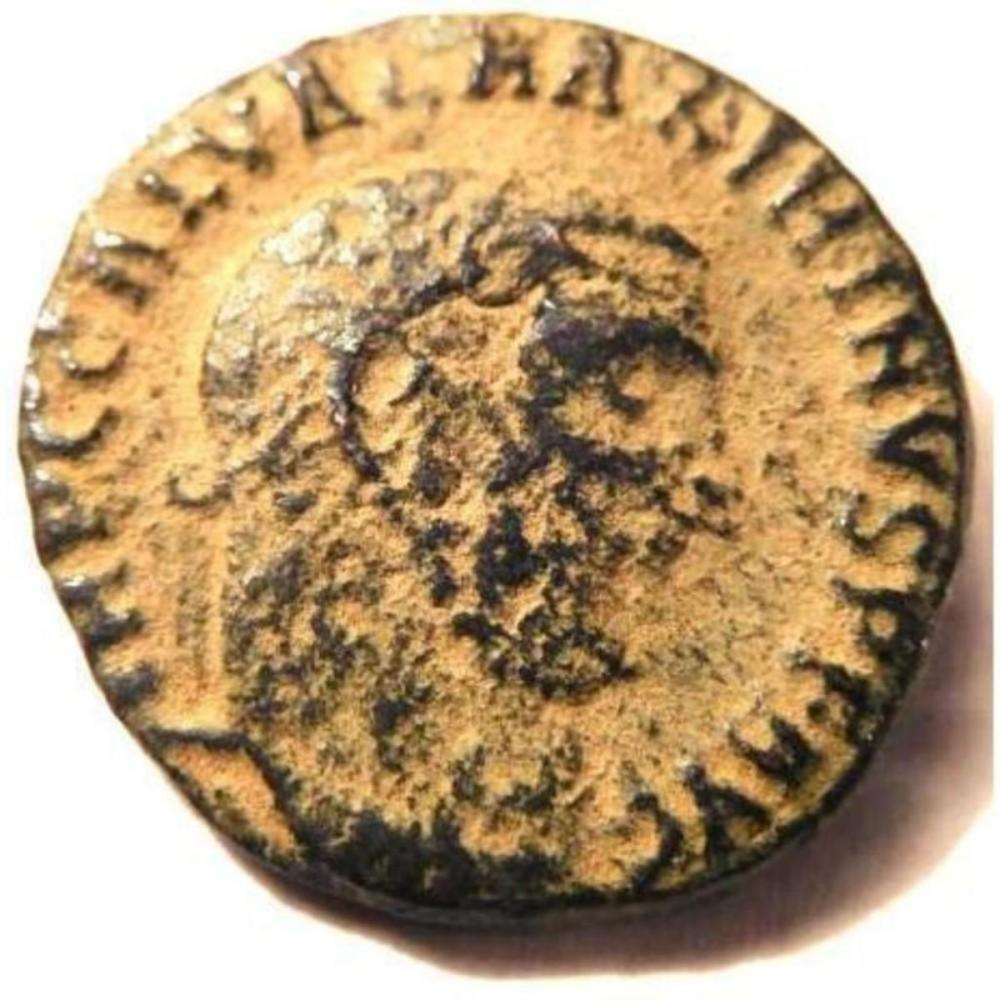 Ancient Bronze Coin of Emperor Galerius (293-311 A.D.)