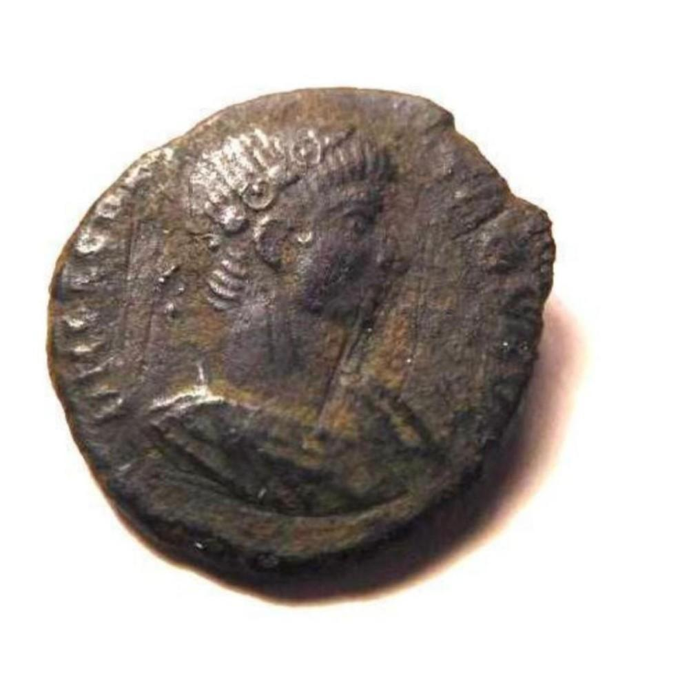 Bronze Coin of Procopius: 365-366 A.D. - Scarce