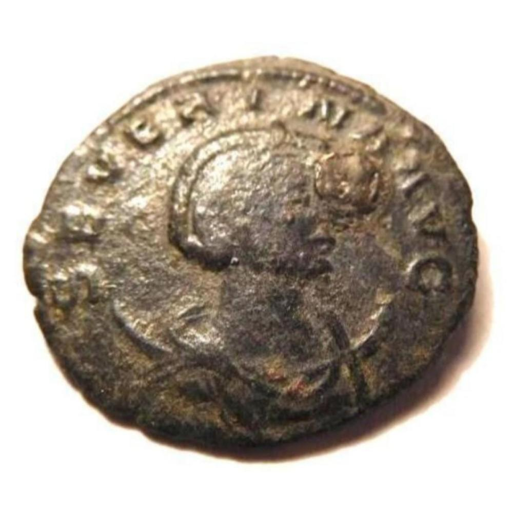 Bronze Coin of Severina, Wife of Aurelian - Scarce