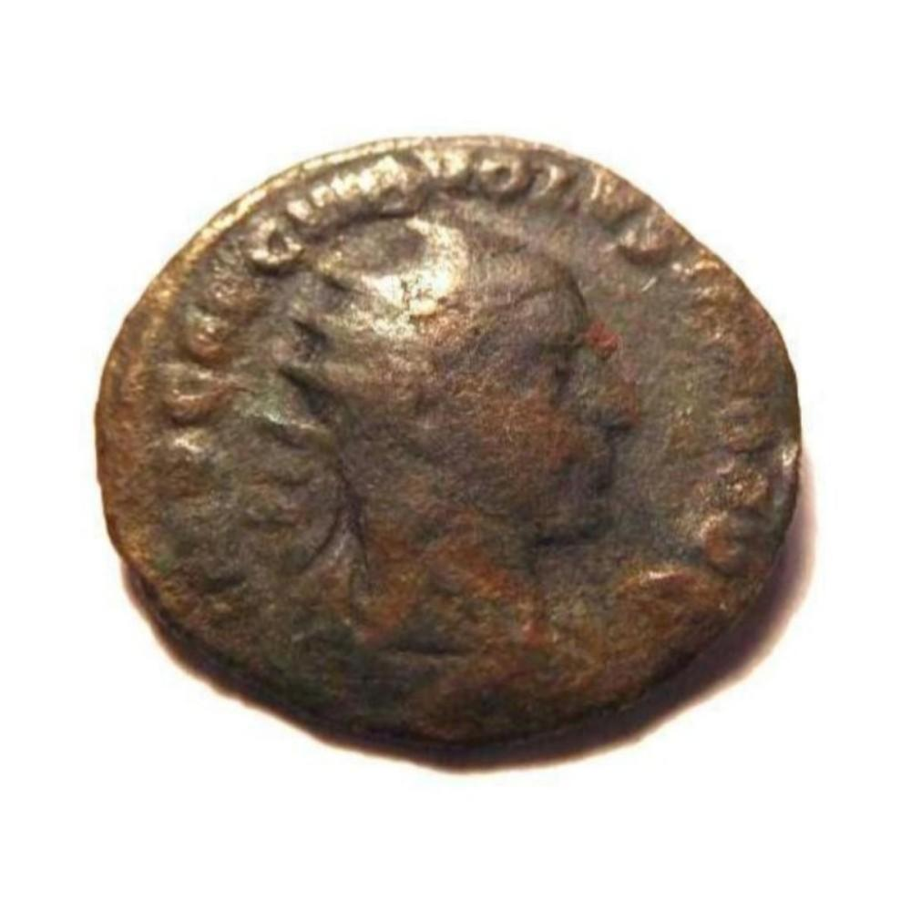 Bronze Coin of Volusian: 251-253 A.D.