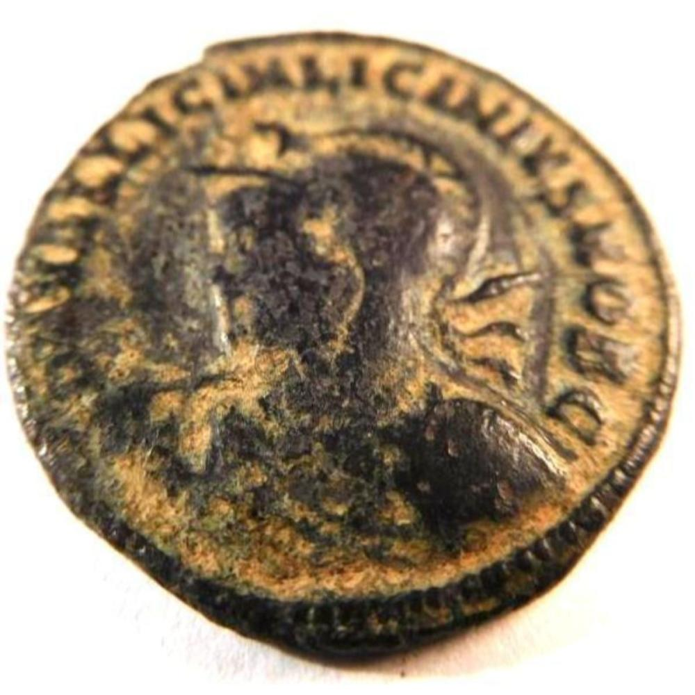 Bronze Coin of Licinius II (317-324 A.D.)