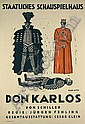 Cesar Klein Don Carlos Poster / Plakat, Cesar Klein, Click for value