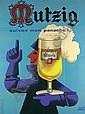 Morvan Mutzig (Pils) Poster / Plakat, Hervé Morvan, Click for value