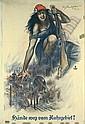 Matejko Hände weg vom Ruhrgebiet Propaganda Poster / Plakat, Theo Matejko, Click for value