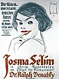 Original 1910s Austrian Theater Poster JOSMA SELIM