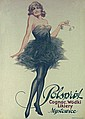 Rare Original 1920s Polish Cognac Advert Poster