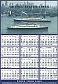 Original 1950s United States Lines Ship Travel Poster