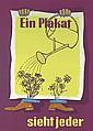Original 1950s German Advertising Poster Plakat