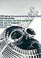 Original 1960s Swiss Design Poster WERNER ZRYD, Werner Zryd, Click for value