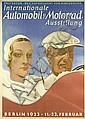ORIGINAL Arpke Auto Ausstellung 1933 Plakat Poster, Otto Arpke, Click for value