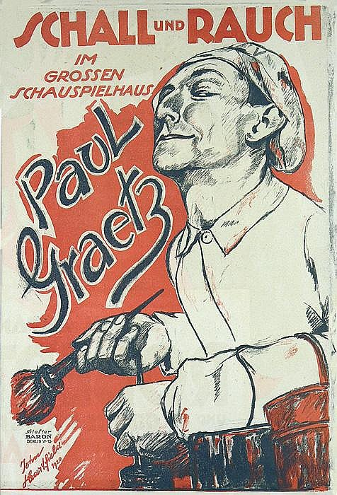 RARE ORIGINAL 1920s JOHN HEARTFIELD Poster Plakat