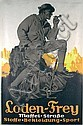 Original 1920s German Fashion Poster Plakat, Edwin Henel, Click for value