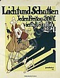 Original German Poster Plakat 1910 PREETORIUS, Emil Preetorius, Click for value
