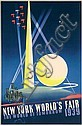 Original 1939 New York World's Fair Poster BINDER, Joseph (1898) Binder, Click for value