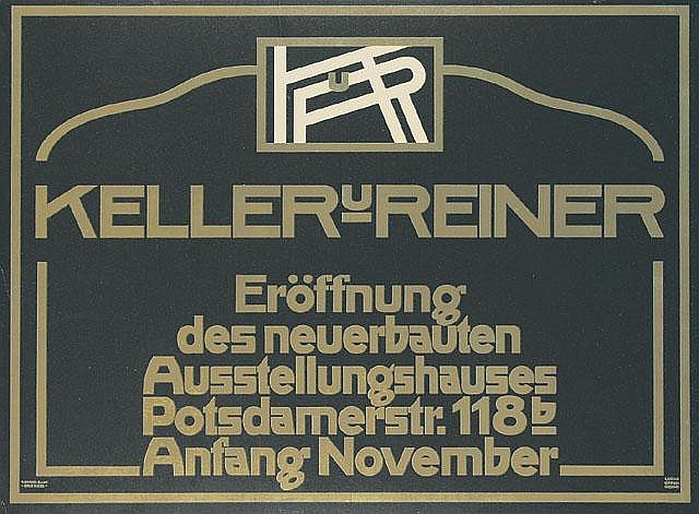 Original 1910 German Berlin Art Poster Plakat