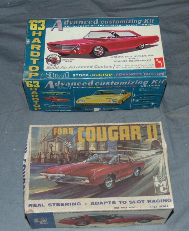 8 Unbuilt Vintage Ford Model Kits
